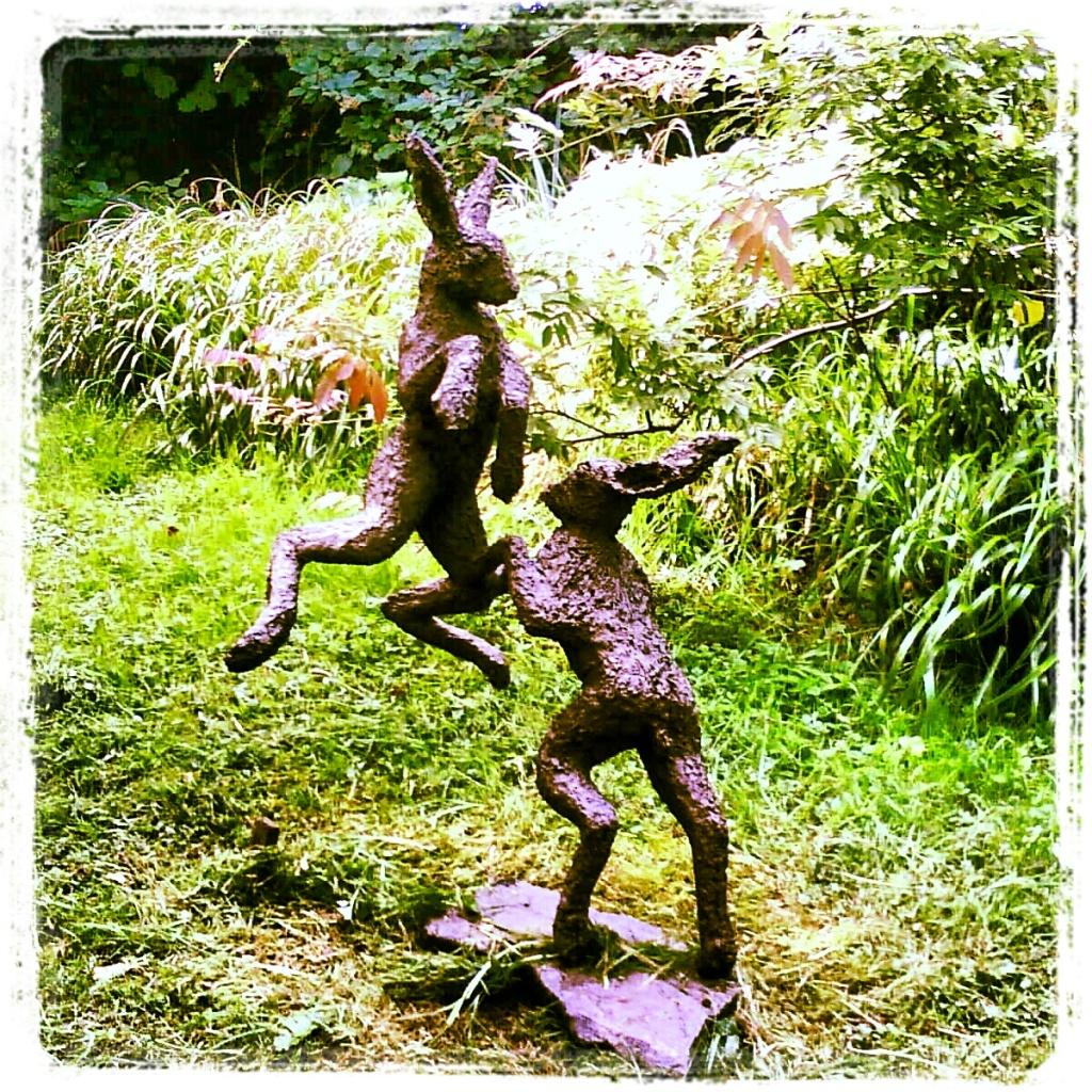 Stone lane Mythic Gardens, Chagford